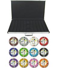 Desert Heat Claysmith 14gm 1000 Chip Clay Poker Set W/aluminum Case - Choose Chips!