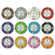 Bluff Canyon Claysmith 14gm Clay Poker Chips - 12 Chip Sample Set!