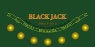 Premium Blackjack Sublimation Cloth Felt Layout