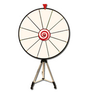 Deluxe 24 Inch Dry Erase Prize Wheel with Adjustable Easel - Choose Type!