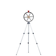 Deluxe 12 Inch Dry Erase Prize Wheel with Adjustable Easel  - Choose Type!