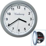 Gambler's Wall Clock Diversion Safe
