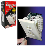 Gambler's Wall Outlet Diversion Safe - Perfect for Home Poker Games!