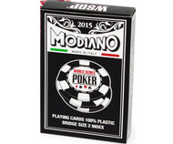 Modiano 2015 World Series of Poker WSOP 100% Plastic Playing Cards - 1 DECK!