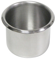 STAINLESS STEEL CUP HOLDER FOR CASINO GAMING TABLES