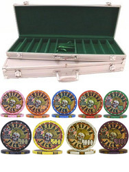 500PC NEVADA JACKS 10gm CERAMIC POKER CHIP SET - CHOOSE