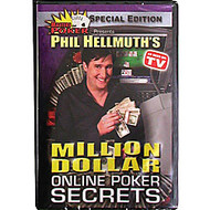 PHIL HELLMUTH'S MILLION DOLLAR ONLINE POKER SECRETS DVD