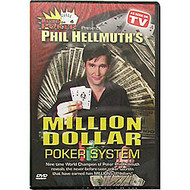 PHIL HELLMUTH'S MILLION DOLLAR POKER SYSTEM DVD