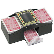 1-2 DECK AUTOMATIC CARD SHUFFLER