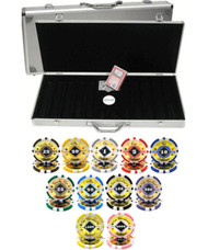 BLACK DIAMOND LASER 14gm CLAY 500 Chip Poker Set - CHOOSE CHIPS
