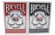 BICYCLE WORLD SERIES OF POKER (WSOP) CARDS - 2 DECKS