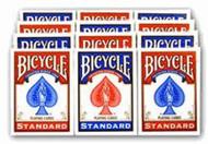 BICYCLE RIDER BACK 808 Poker Playing Cards - 1 DOZEN