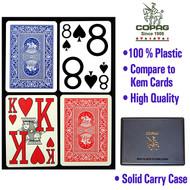 COPAG MAGNUM INDEX 100% Plastic Cards - 2 Decks!