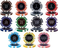 25 ECLIPSE 14gm CLAY Poker Chips - CHOOSE