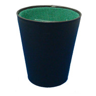 FELT LINED PLASTIC Craps DICE CUP
