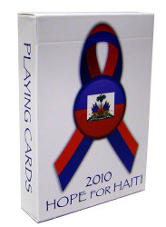Bicycle 2010 Hope For Haiti Playing Cards - 1 DECK
