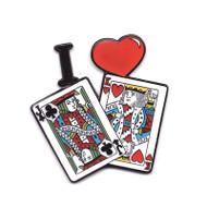 I LOVE JACK KING Funny Poker Card Cover