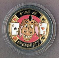I'M A DONK! Poker Card Cover