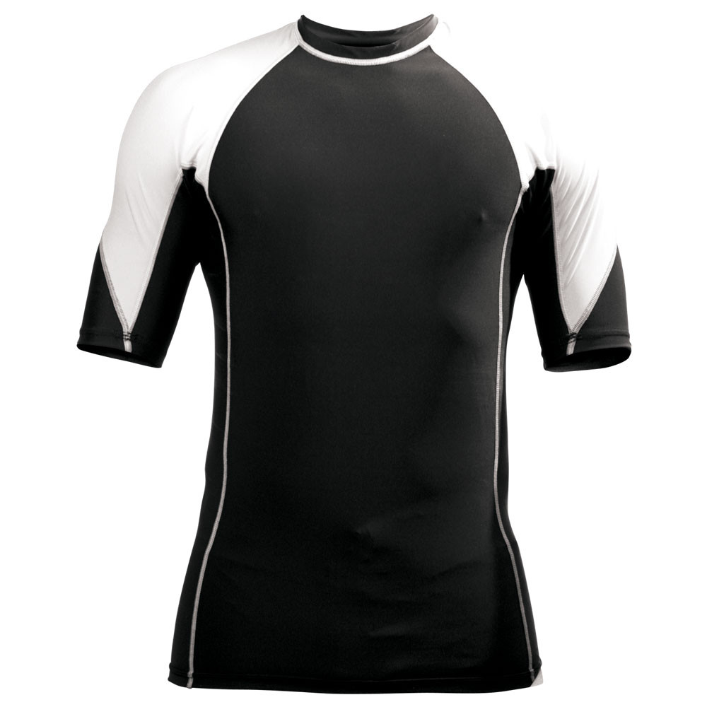 Two-Tone Rash Guard - Short Sleeve