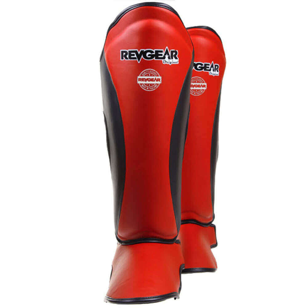 Thai Original Shin Guards - Red