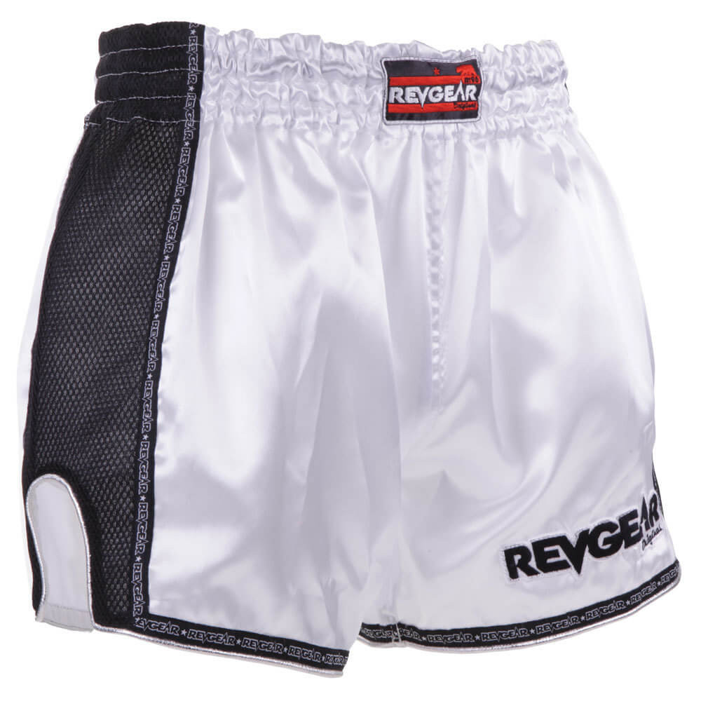 Thai Original Low Waist Muay Thai Short - White