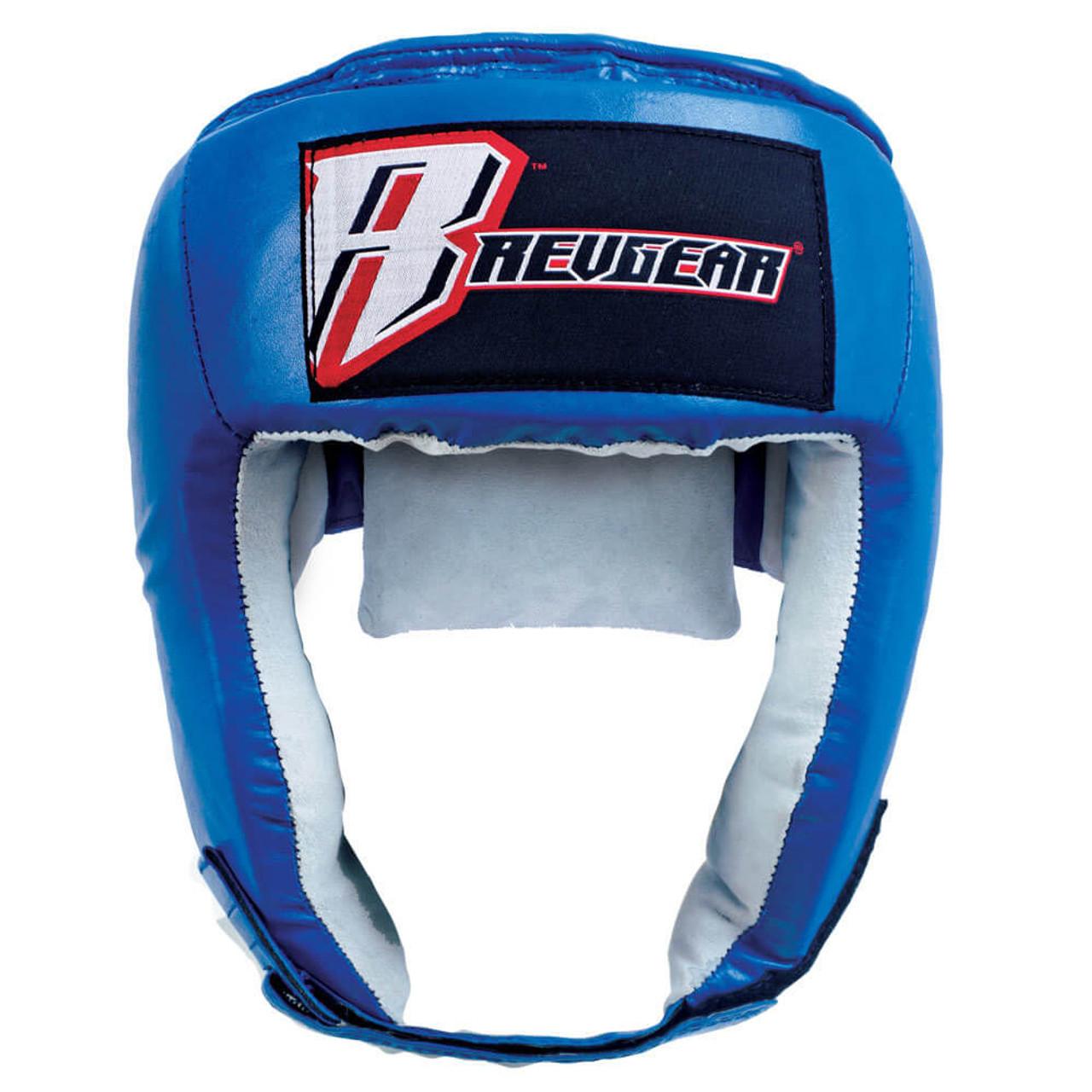 Open Face Leather Headgear