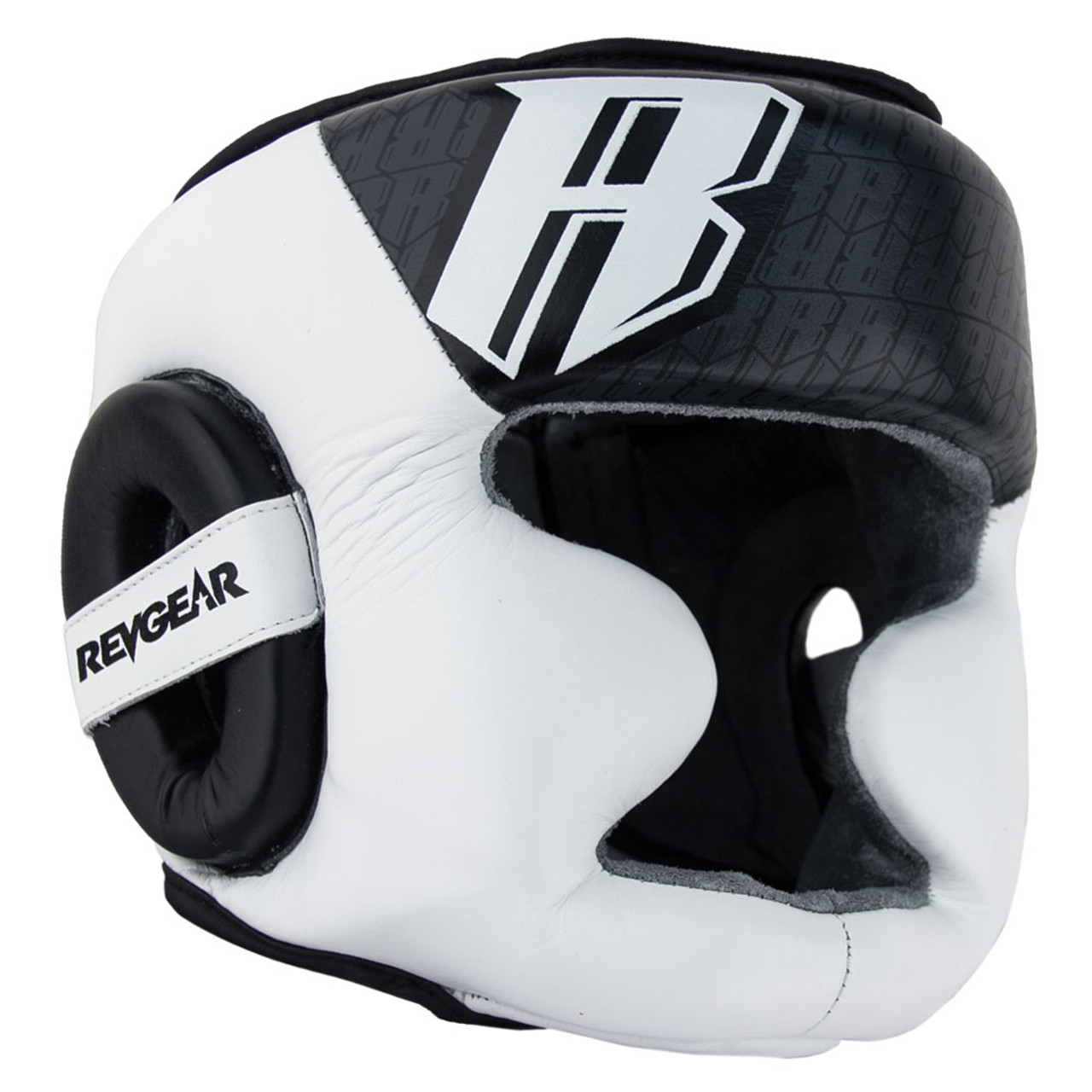 Champion II Headgear With Chin - White