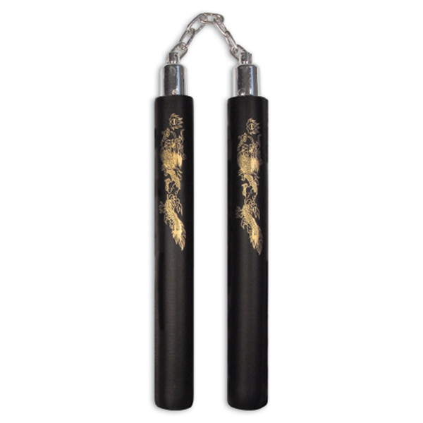 "12"" Padded Foam Nunchaku with Chain"