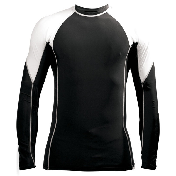 Two-Tone Rash Guard - Long Sleeve
