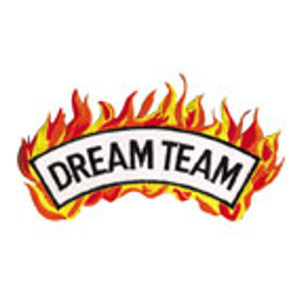 Dream Team - Flame Patch