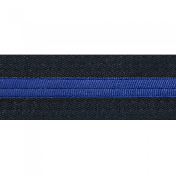 Striped Black Belt