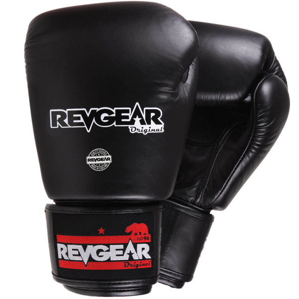 Thai Original Boxing Gloves - Black