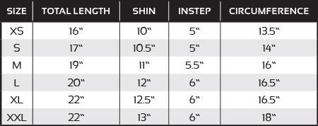 Cloth Shin And Instep Pad Black Revgear