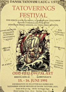 Danish Tattoo Festival Poster