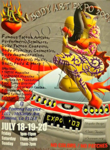 Body Art Expo 2003 Poster