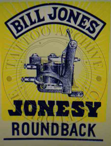 Bill Jones Machine Poster (Roundback)