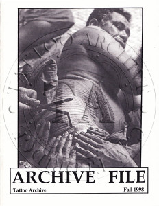 Archive File Fall 1998