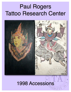 1998 Paul Rogers Tattoo Research Center Accession Book