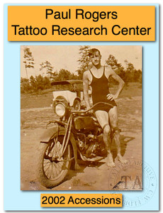 2002 Paul Rogers Tattoo Research Center Accession Book