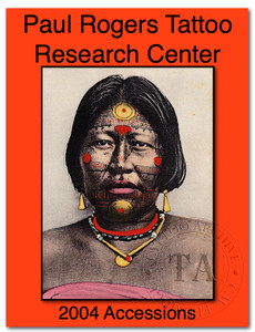 2004 Paul Rogers Tattoo Research Center Accession Book