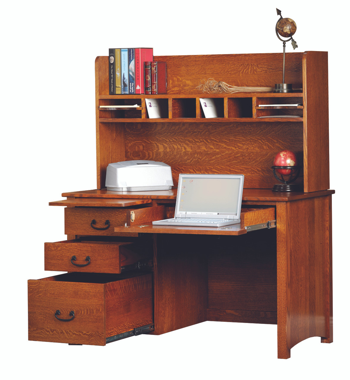 Rivertown 48 Quot Desk And Hutch 2076 Yt 2050 The Mission Motif