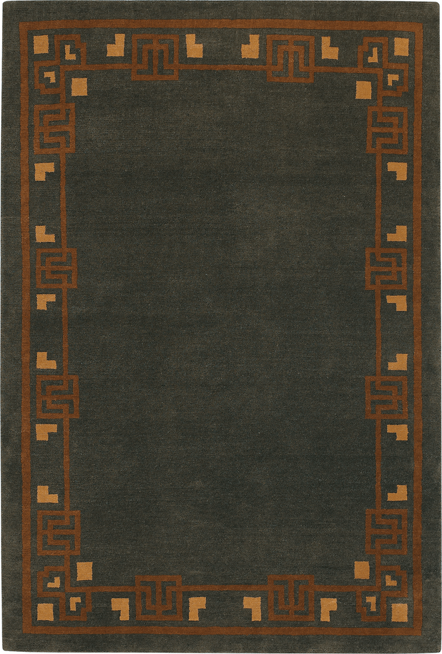 Craftsman Bungalow Spice Rug The Mission Motif