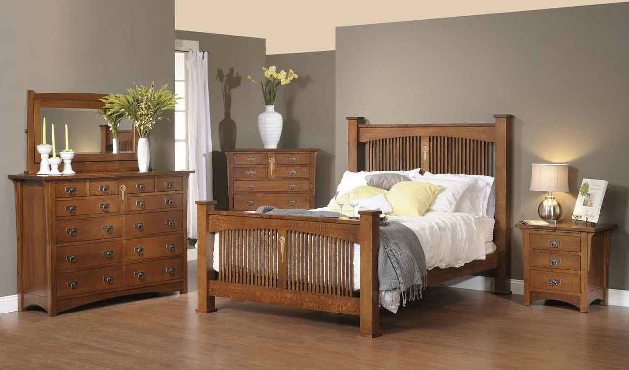 Craftsman 5 Piece Bedroom Set