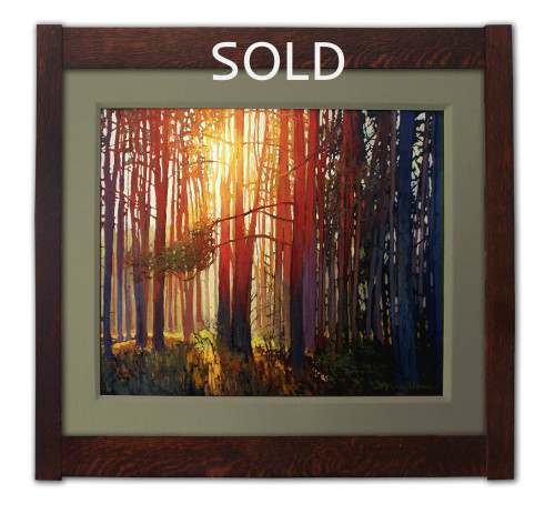 Woodland Tapestry Oil on Canvas