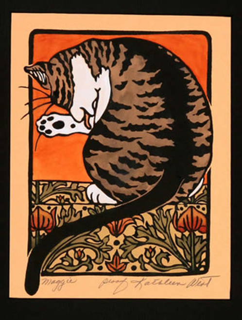 Maggie Print by Kathleen West