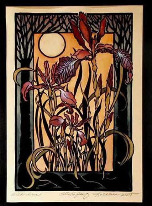 Wild Iris Print
