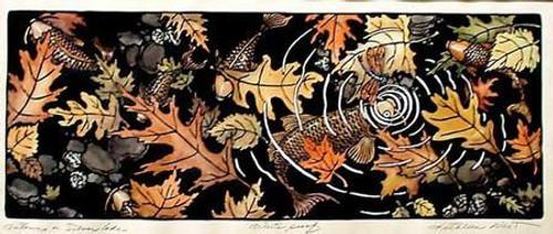 Autumn On Silver Lake Print