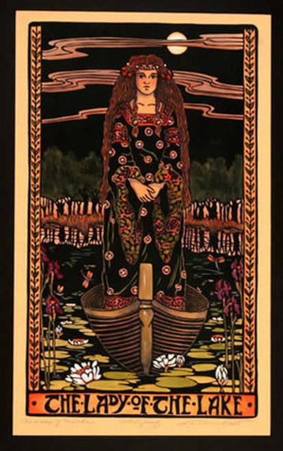 Lady Of The Lake Print