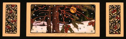 Winters Eve Print
