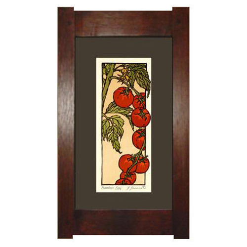 Framed Cherry Tomatoes Print